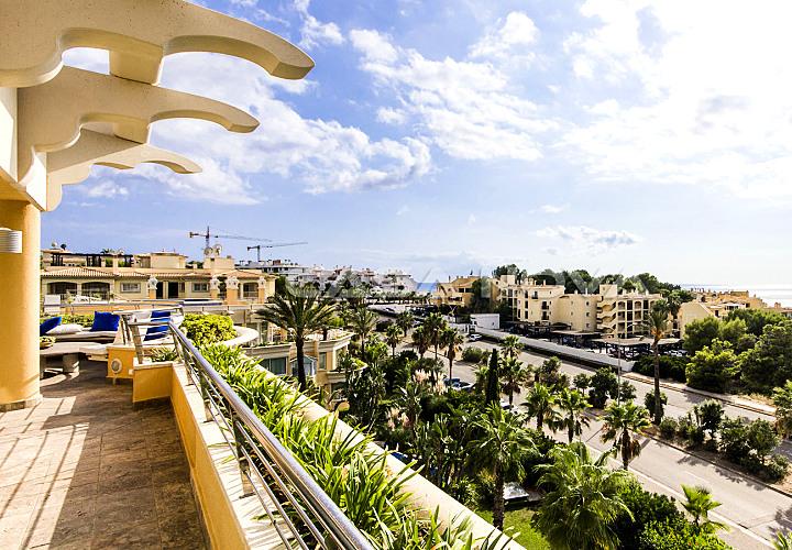 Meerblick  Penthaus in bester Wohnlage auf Mallorca