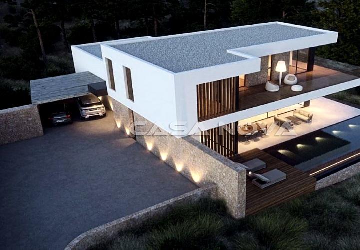 EXKLUSIV BEI UNS : Villen Neubau Projekt in begehrter Lage